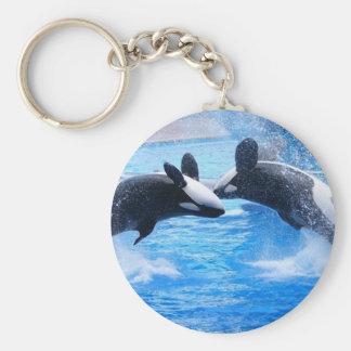Porte-clés Porte - clé de photo de baleine