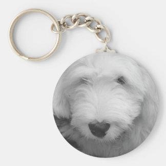 Porte-clés Porte - clé de photo de chien de moutons