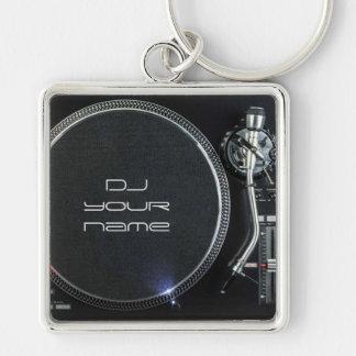 Porte-clés Porte - clé de plaque tournante du DJ