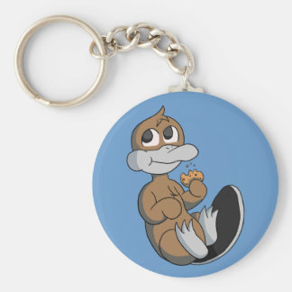 Porte-clés Porte - clé de Platypi de biscuit