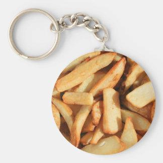 Porte-clés Porte - clé de pommes frites