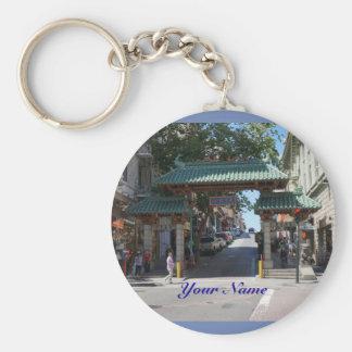 Porte-clés Porte - clé de porte de San Francisco Chinatown