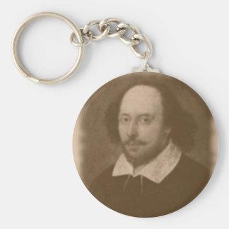 Porte-clés Porte - clé de portrait de Shakespeare