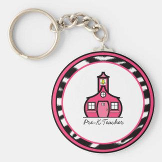 Porte-clés Porte - clé de professeur de Pre-K