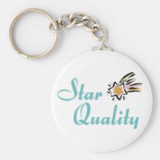 Porte-clés Porte - clé de qualité d'étoile