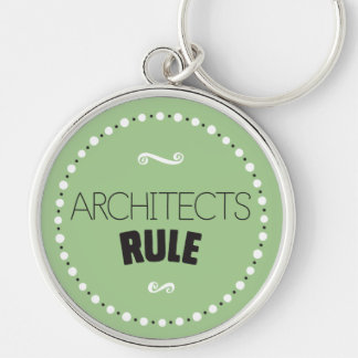 Porte-clés Porte - clé de règle d'architectes - arrière -