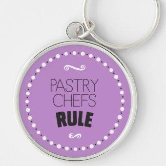 Porte-clés Porte - clé de règle de chefs de pâtisserie -