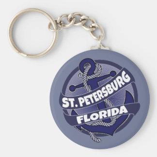 Porte-clés Porte - clé de remous d'ancre de St Petersburg la