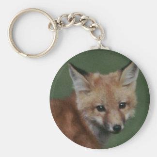 Porte-clés porte - clé de renard
