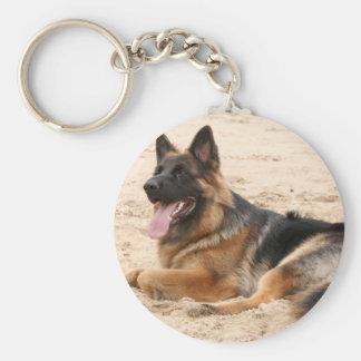 Porte-clés Porte - clé de repos de chien de berger allemand