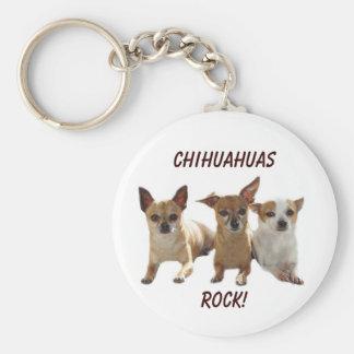 Porte-clés Porte - clé de roche de chiwawas