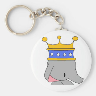 Porte-clés porte - clé de roi d'éléphant
