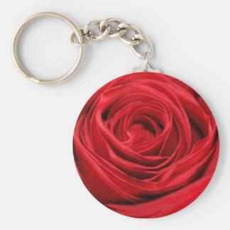 Porte-clés Porte - clé de rose rouge