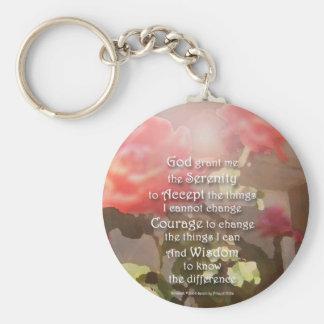 Porte-clés Porte - clé de roses de récupération de prière de