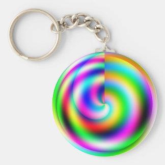 Porte-clés Porte - clé de roue de couleur