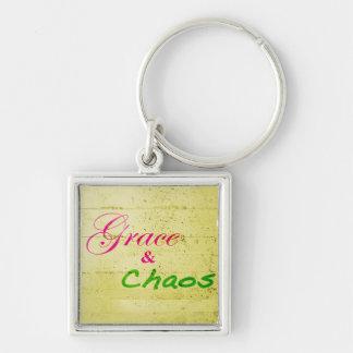 Porte-clés Porte - clé de signature de grâce et de chaos