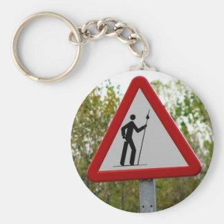 Porte-clés Porte - clé de signe de pèlerin