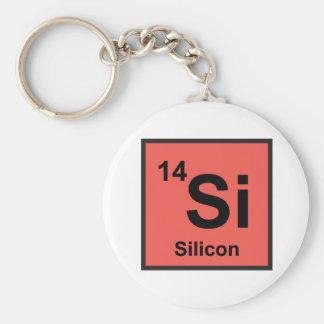 Porte-clés Porte - clé de silicium