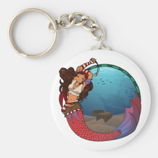 Porte-clés Porte - clé de sirène de pirate