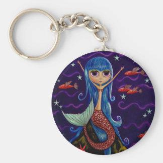 Porte-clés Porte - clé de sirène de poissons de vol