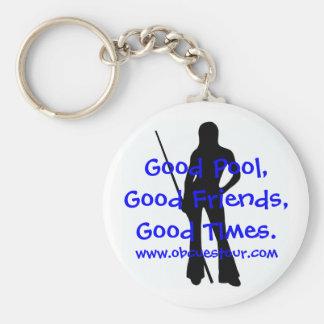 Porte-clés Porte - clé de slogan de visite des dames 9-Ball