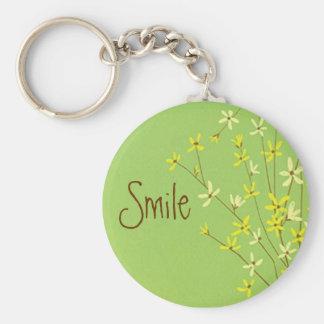 Porte-clés Porte - clé de sourire