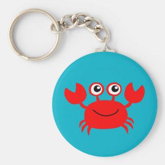 Porte-clés Porte - clé de sourire Animated de crabe