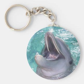 Porte-clés Porte - clé de sourire de dauphin