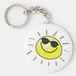 Porte-clés Porte - clé de sourire de Sun