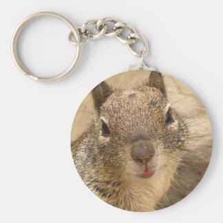 Porte-clés Porte - clé de sourire d'écureuil