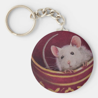Porte-clés Porte - clé de souris de tasse de thé