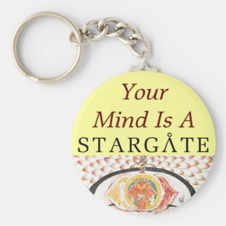 Porte-clés porte - clé de stargate d'esprit