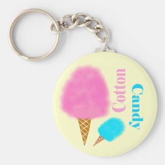 Porte-clés Porte - clé de sucrerie de coton
