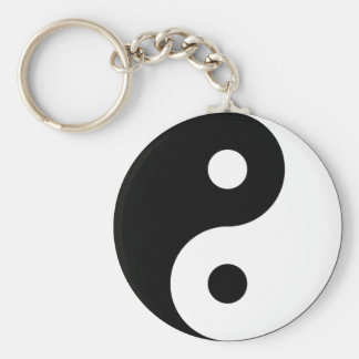 Porte-clés Porte - clé de symbole de Yin Yang