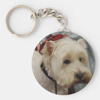 Porte-clés Porte - clé de Terrier blanc de montagne