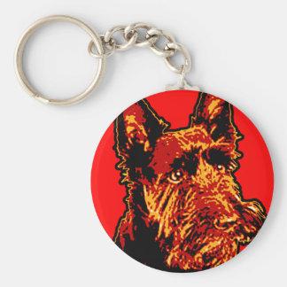 Porte-clés Porte - clé de Terrier d'écossais (Scottie)