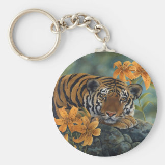 Porte-clés Porte - clé de tigre