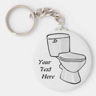 Porte-clés Porte - clé de toilette