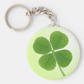 Porte-clés porte - clé de trèfle de quatre feuilles