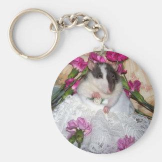 Porte-clés Porte - clé de Trudy de jeune mariée de rat