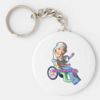Porte-clés Porte - clé de Verseau