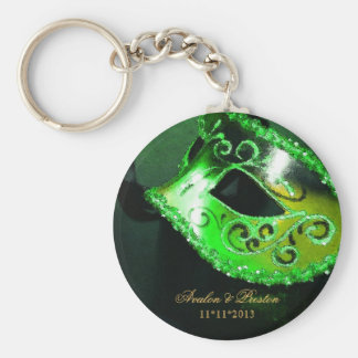 Porte-clés Porte - clé de vert de faveur de mariage de