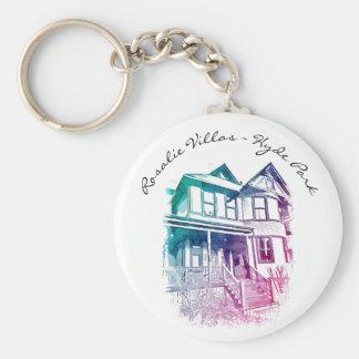 Porte-clés Porte - clé de villas de Rosalie