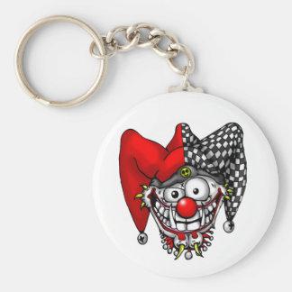 Porte-clés Porte - clé de visage de farceur