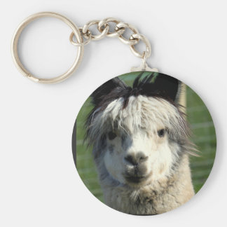 Porte-clés Porte - clé de visage de lama