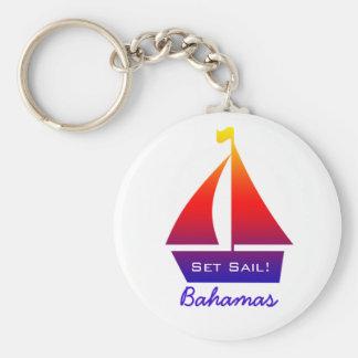 Porte-clés Porte - clé de voilier des Bahamas