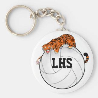 Porte-clés Porte - clé de volleyball de tigre