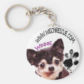 Porte-clés Porte - clé de Winnie (empreinte de patte)