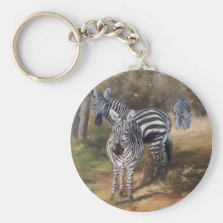 Porte-clés Porte - clé de zèbres