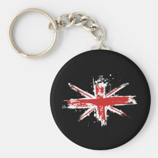 Porte-clés Porte - clé d'éclaboussure d'Union Jack